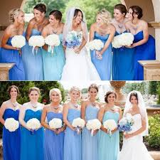 bridesmaid dresses in blue wedding ideas by colour pastel blue bridesmaid dresses chwv