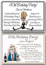 funny 60th birthday party invitations choice image invitation