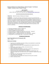 Resume Template Restaurant 100 Hostess Resume Example Host Resume Samples Visualcv Resume