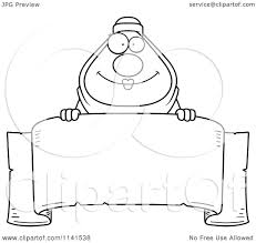 cartoon clipart of a black and white chubby muslim woman over a
