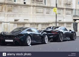 mclaren supercar london england 22 december 2016 a mclaren supercar and a