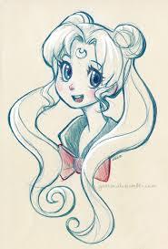 illustration sketch bunny myart sailor moon daily sketch daily