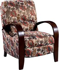 Youth Recliner Chairs Aaron Reclining Fabric Accent Chair Copper Living Room