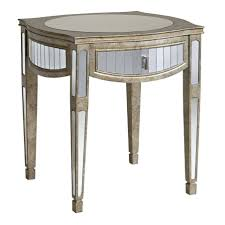 mirrored pyramid living room accent side end table mirrored cube living room accent side end table side tables ideas