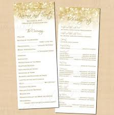 gold wedding programs 271 best new year s wedding images on wedding