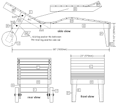 Free Plans For Making Garden Furniture by Pdf Wooden Deck Lounger Plans Diy Free Plans Download Windsor