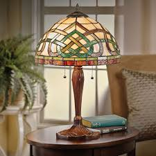 Stained Glass Light Fixtures Celtic Knot Stained Glass Table Lamp At Acorn Xa8032