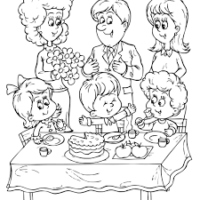 project ideas birthday party coloring page 9 birthday party