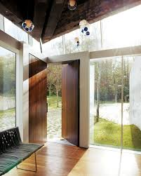 Modern Entry Doors by Take A Peek Through These 10 Modern Front Doors Photo 8 Of 10