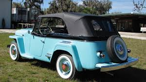 1948 willys jeepster 1949 willys jeepster j65 1 kissimmee 2017