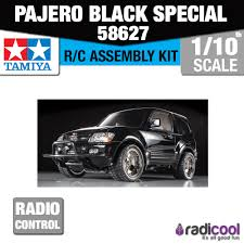 new 58627 tamiya pajero cc 01 black special low ride edition r c