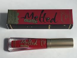 faced melted matte in balls stay gorgeous