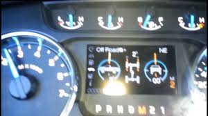 select shift manual transmission demonstration on a 2013 ford f150