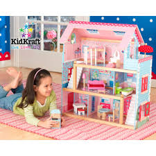 Fisher Price Doll House Furniture Kidkraft Majestic Mansion Dollhouse With 34 Accessories Walmart Com