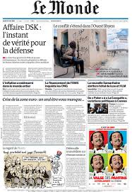 si鑒e du journal le monde http imagesdetunisie com booknews lemonde19052011couv jpg