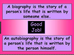 biography an autobiography difference difference between biography and autobiography biography vs