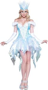 snow queen womens dress costume buycostumes com