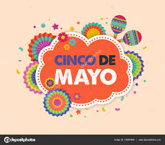 cinco de mayo mexican banner and poster design with flags