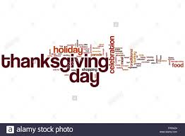thanksgiving day word cloud concept stock photo royalty free