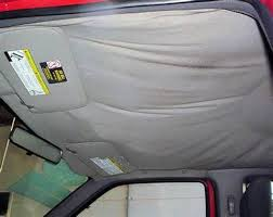 Interior Car Roof Liner Repair Redoing Your Car Headliner It U0027s Pretty Easy Do It All