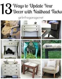Nailheads For Upholstery 13 Ways To Update Decor With Nailheads In The Garage