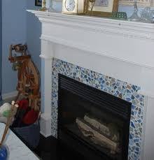 Mosaic Tile Fireplace Surround by 54 Best Fireplace Images On Pinterest Fireplaces Fireplace