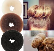 hairstyles with a hair donut plate hair donut bun maker magic foam sponge hair styling tools
