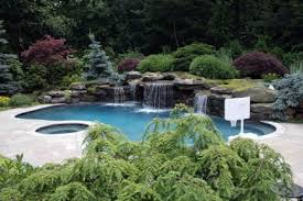 Landscaping Around Pool Swimming Pool Landscaping Ideas Pictures Backyard Rocks Design