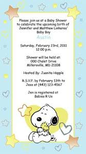 baby shower snoopy invitation por jolidetallitos en etsy
