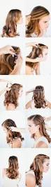 Easy Country Hairstyles by Waterfall Braid Wedding Hairstyles For Long Hair Once Wed