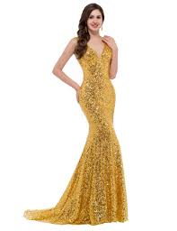 evening dresses for weddings bling bling gold prom dresses prom dress mermaid prom gown v
