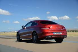 mercedes c class shape sleek 2015 mercedes c class coupe to take on bmw 4 series