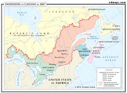 French Canada Map by What Canada Looked Like In 1867 Canada