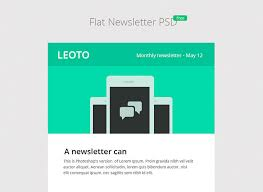 6 free email newsletter psd templates web u0026 graphic design
