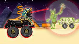 toddler monster truck videos monster trucks from egypt sphinx vs zombie children u0027s monster