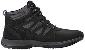 s rockport xcs boots rockport s xcs gear wp plain winter boot black grey
