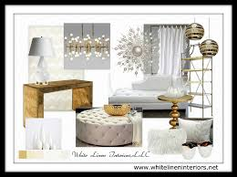 Black White And Gold Living Room by White Furniture Board Descargas Mundiales Com