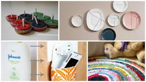 Home Decor Made From Recycled Materials by Home Decor Ideas From Waste Price List Biz