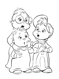 chipmunks coloring pages 3502 800 667 coloring books download