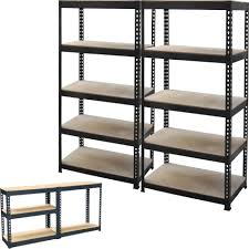 steel storage shelves 3 racking bays 5tier garage shelving unit storage racks heavy duty