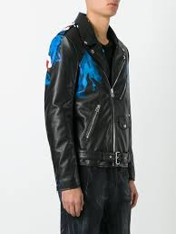 biker waistcoat faith connexion brexit biker jacket 001 black men clothing faith