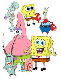 spongebob image spongebob cutout patrick image mr krabs squidward