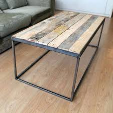 metal frame for table top coffee table wood top metal frame beaconinstitute pertaining to