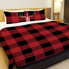 buffalo plaid duvet cover sweetgalas