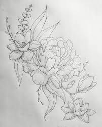 résultats de recherche d u0027images pour magnolia dessin tattoo