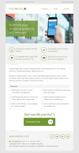 Two Column Responsive Email Template by Postin Mail Responsive Email Template Access To Gifky Layout