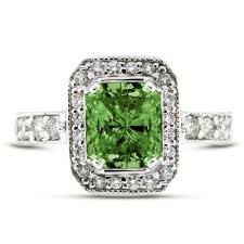green diamonds rings images Green diamond unusual engagement rings review jpg