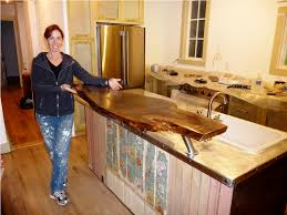 diy wood countertops for kitchens ideas home inspirations design