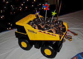 halloween dirt cake mud trifle and a dump truck birthday cake