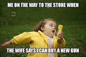 Meme Girl - meme bubble girl new gun woodland gear